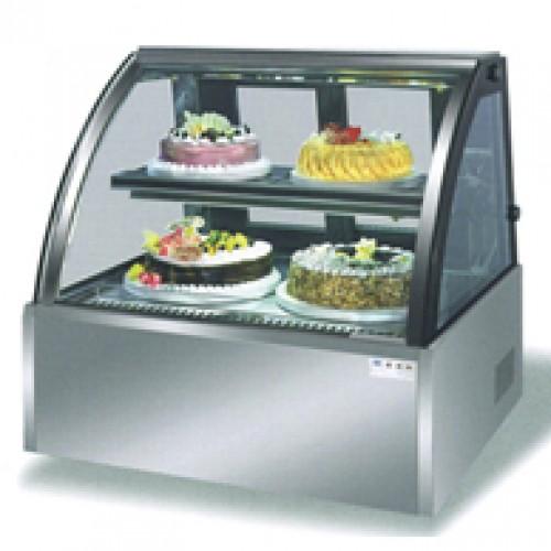 桌面弧形冷櫃
