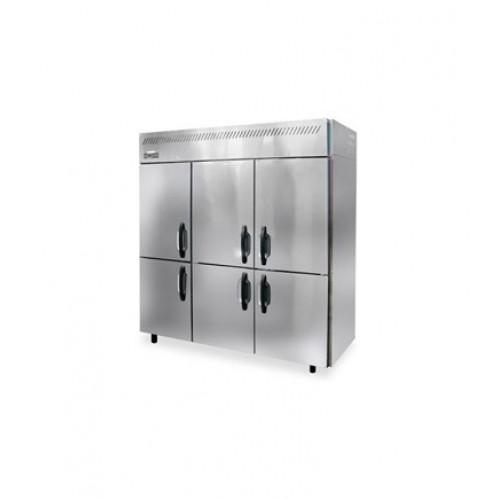 六門商業不銹鋼冷藏雪櫃